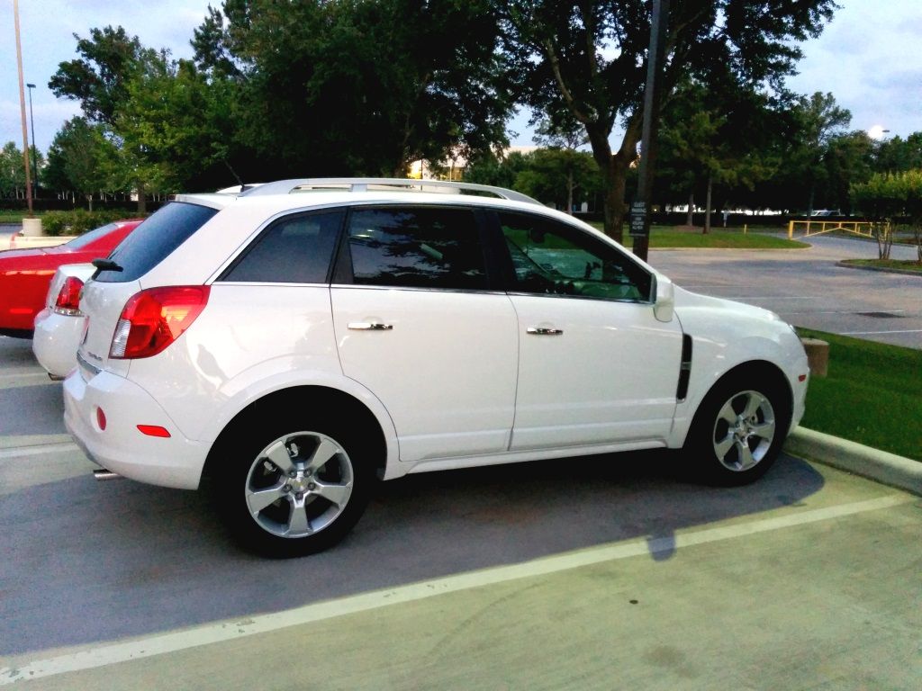 Chevy Captiva SLT 2014