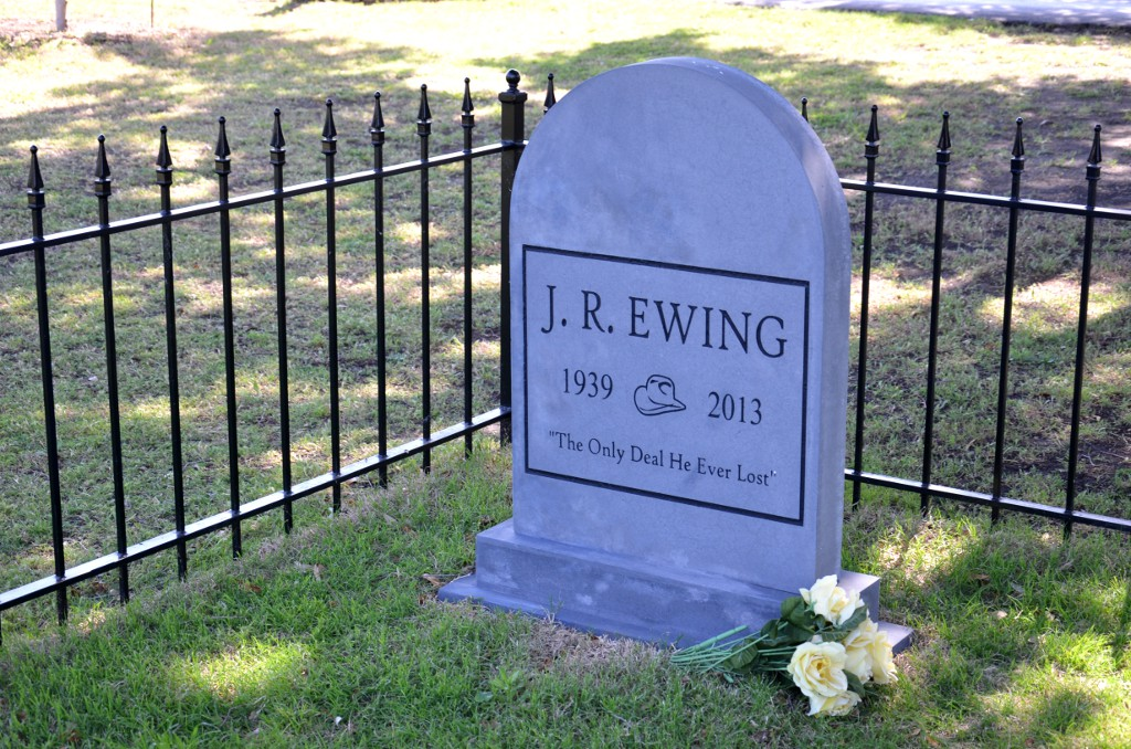 Southfork Ranch - JR Ewing Grave