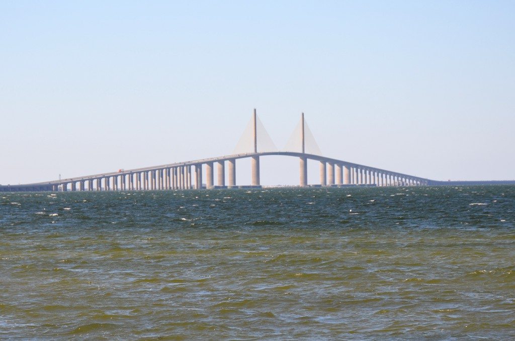 Sunshine Skyway Bridge Tampa Bay