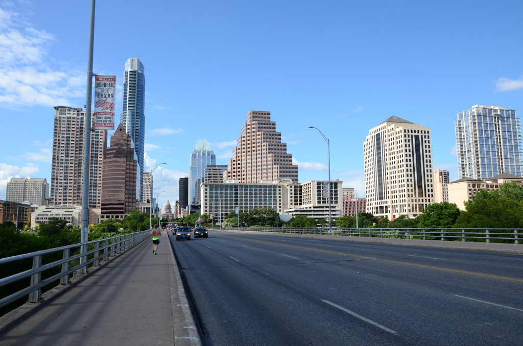 Austin Skyline Congress Avenue
