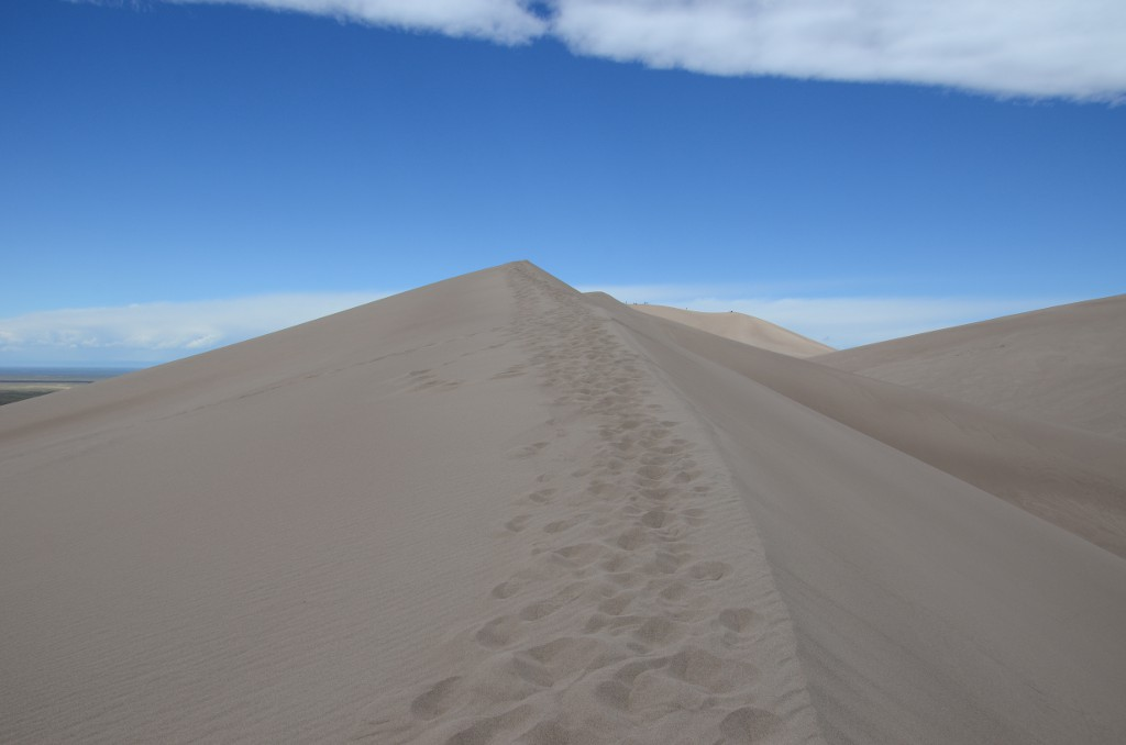 Great Sand Dunes - Walking on Top
