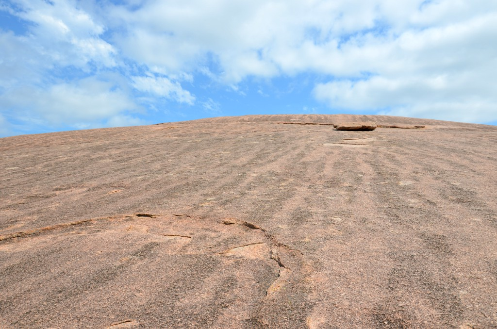 On Top of Enchanted Rock