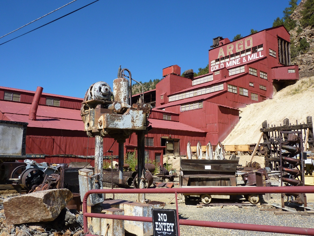 Argo Gold Mill Idaho Springs