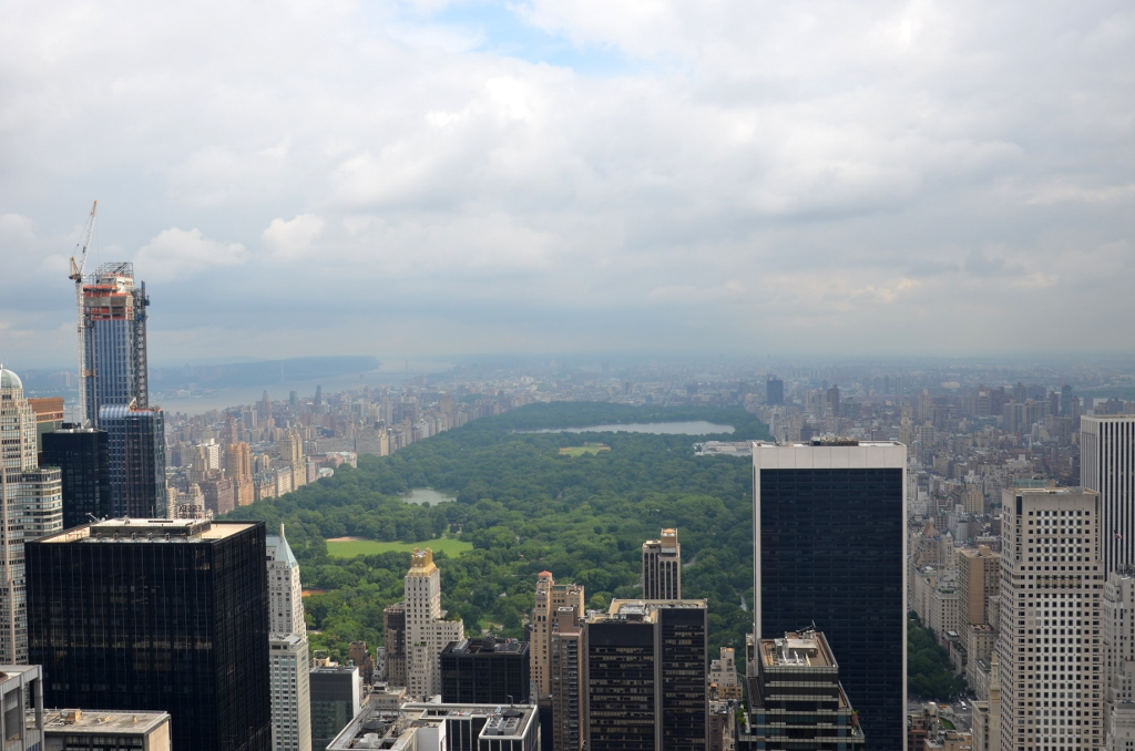 Central Park - Top of the Rock