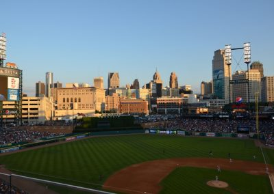 Downtown Detroit - Comerica Park