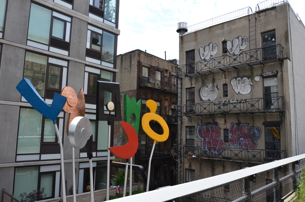 Highline Park - Sculpture