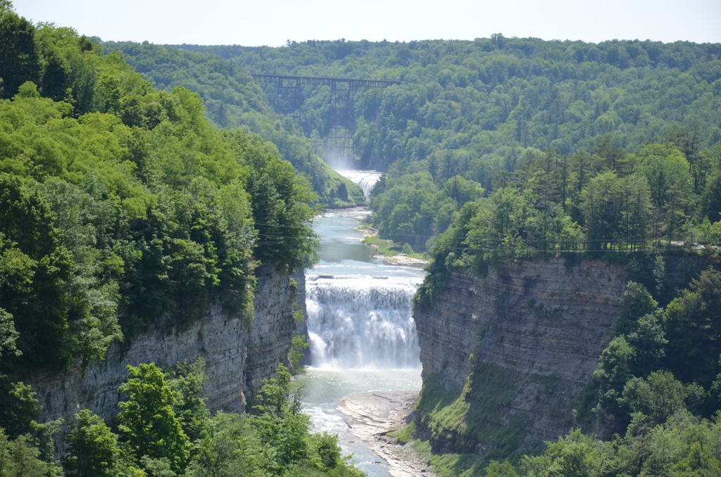 Letchworth State Park - Inspiration Point