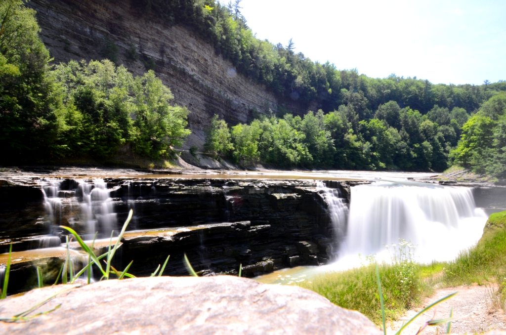 Letchworth State Park - Lower Falls View