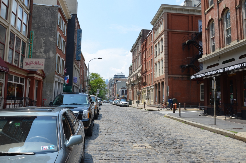 Old City Street Philadelphia
