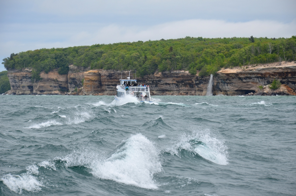 Wellengang Pictured Rocks