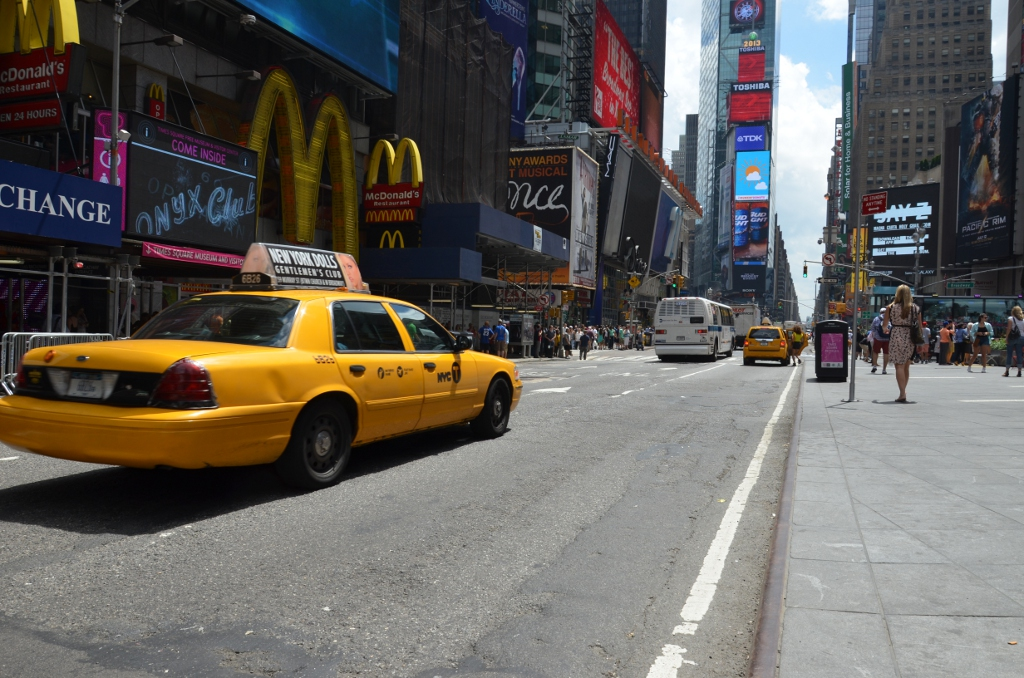 Yellow Cab - Times Square