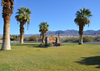 Furnace Creek Ranch - Einfahrt