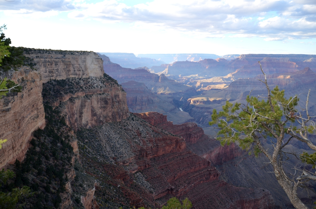 Grand Canyon - Hermits Rest to Monument Creek Vista