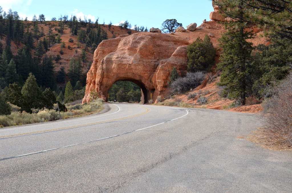 Red Canyon - Tunnel