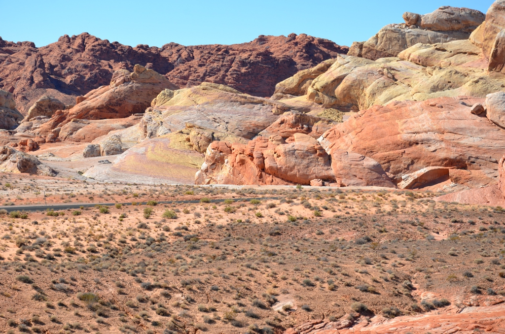 Valley of Fire - Colored Rocks