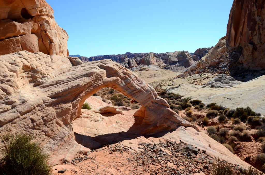 Valley of Fire - Thunderstorm Arch