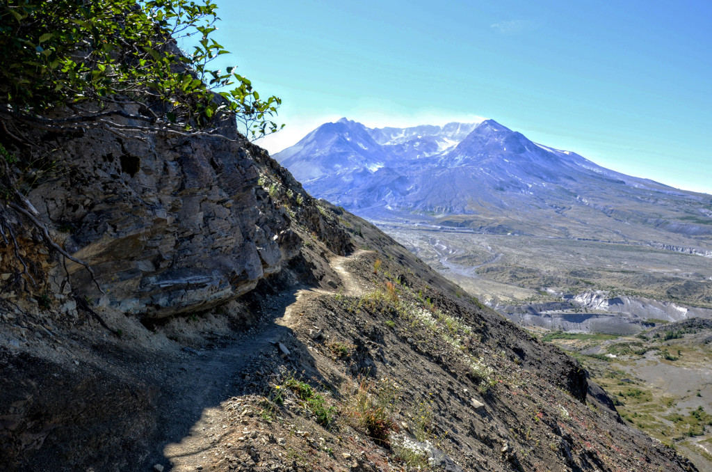 Mt St Helens Boundary Trail