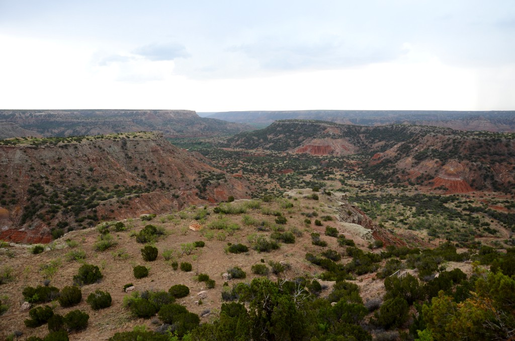 Blick in den Palo Duro Canyon