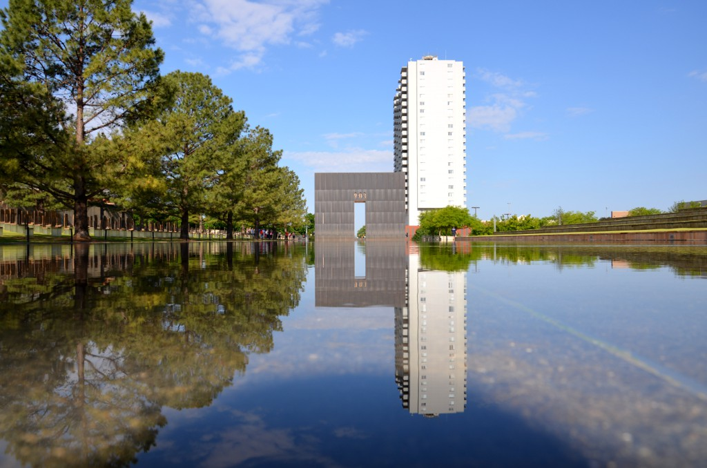 Oklahoma City National Memorial - Reflecting Pool