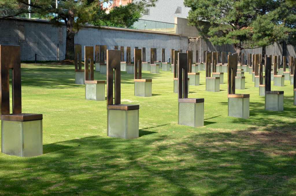 Oklahoma City National Memorial - Stühle