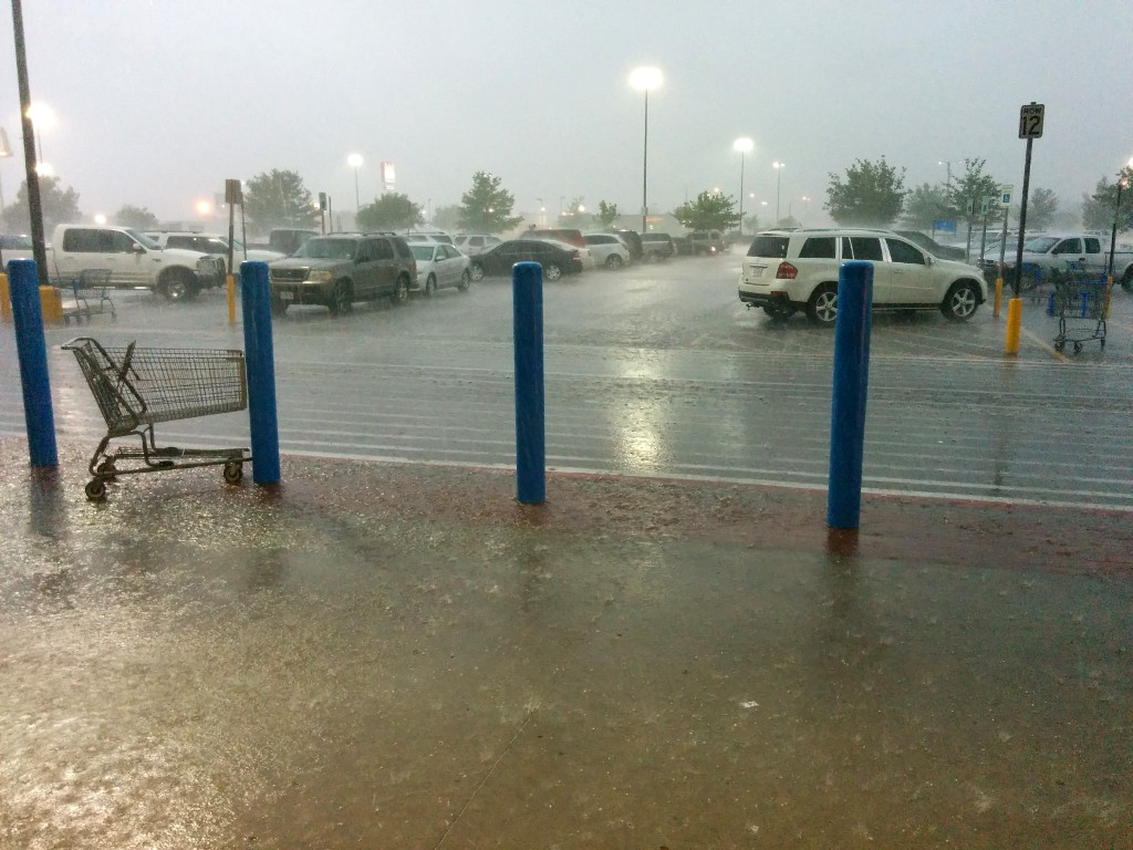 Regen in Amarillo