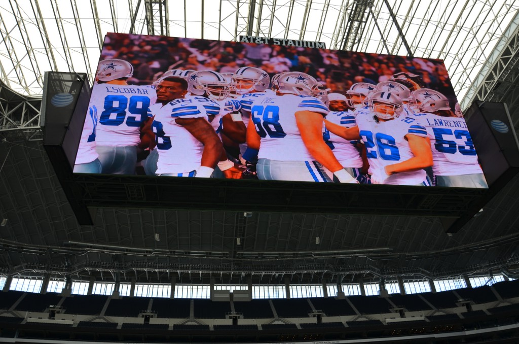 AT&T Stadium - Huge Screen
