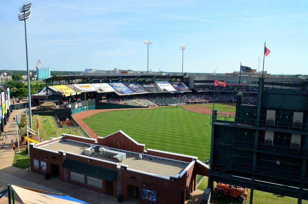 Chickasaw Ballpark Oklahoma City