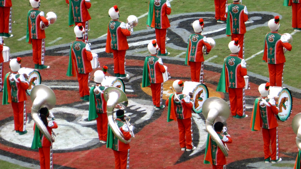 Falcons - Buccaneers Marching Band