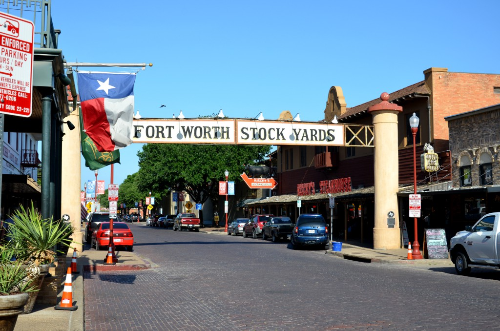 Fort Worth Stockyards Entrance Gate