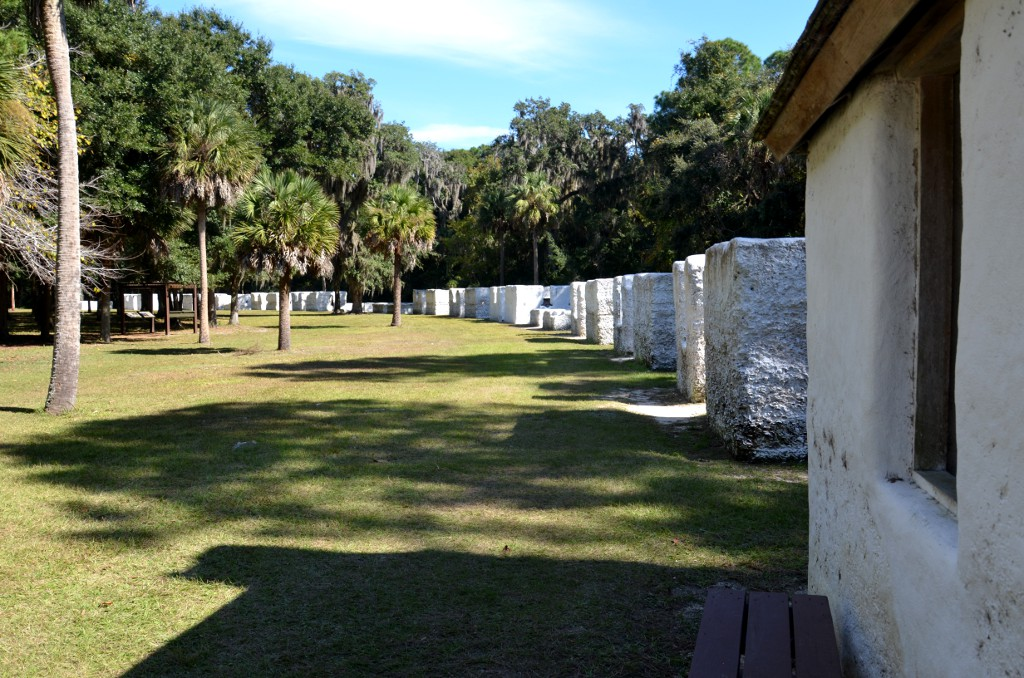 Kingsley Plantation Slave Quarters