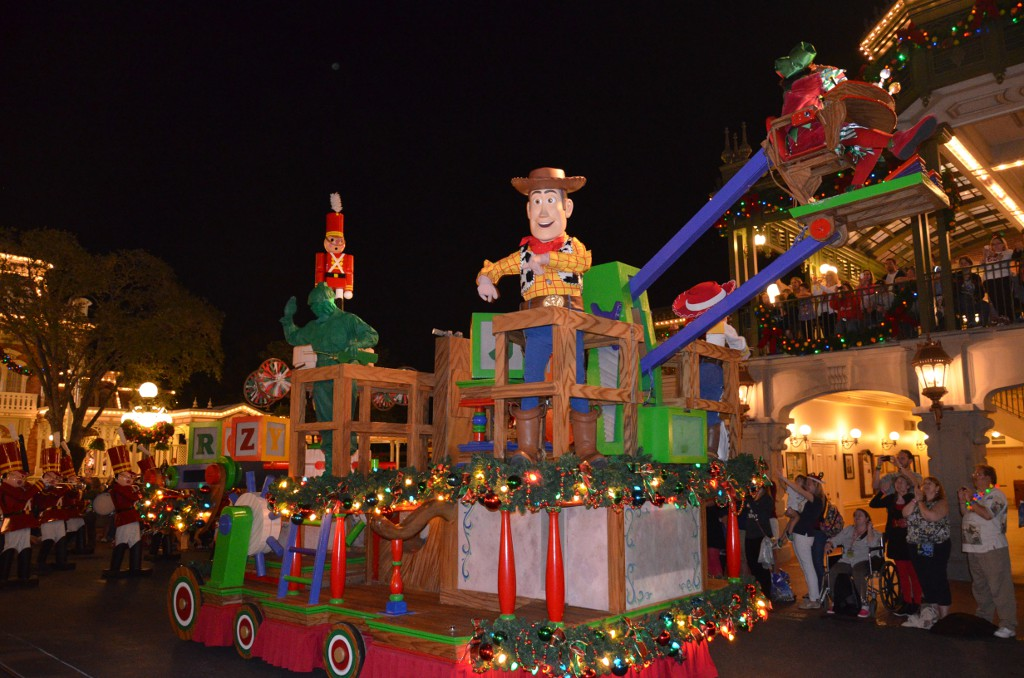 Mickeys Very Merry Christmas Parade - Toy Story