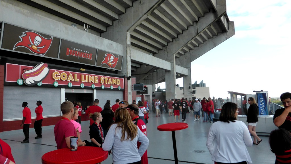 Raymond James Stadium Upper Level