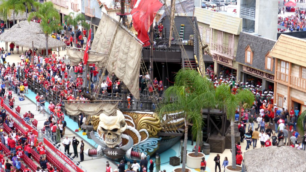 Raymons James Stadium Pirate Ship