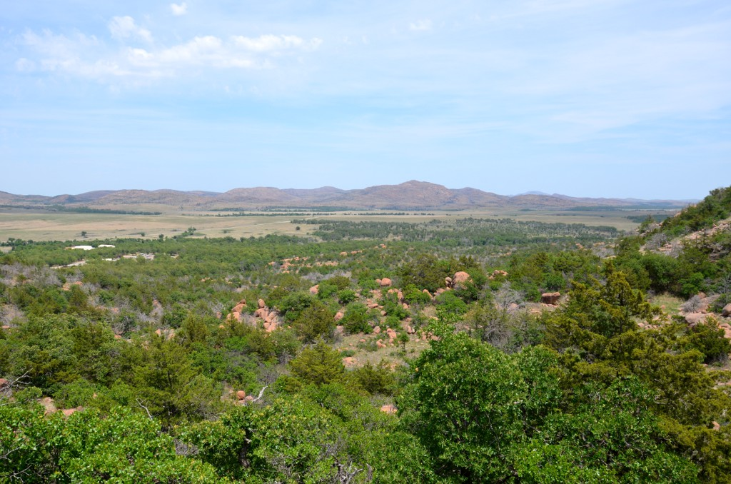 Wichita Mountains - Elk Mountain View
