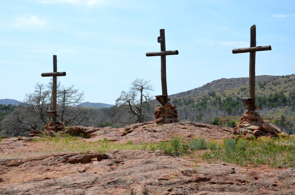 Wichita Mountains - Holy City - Kreuze