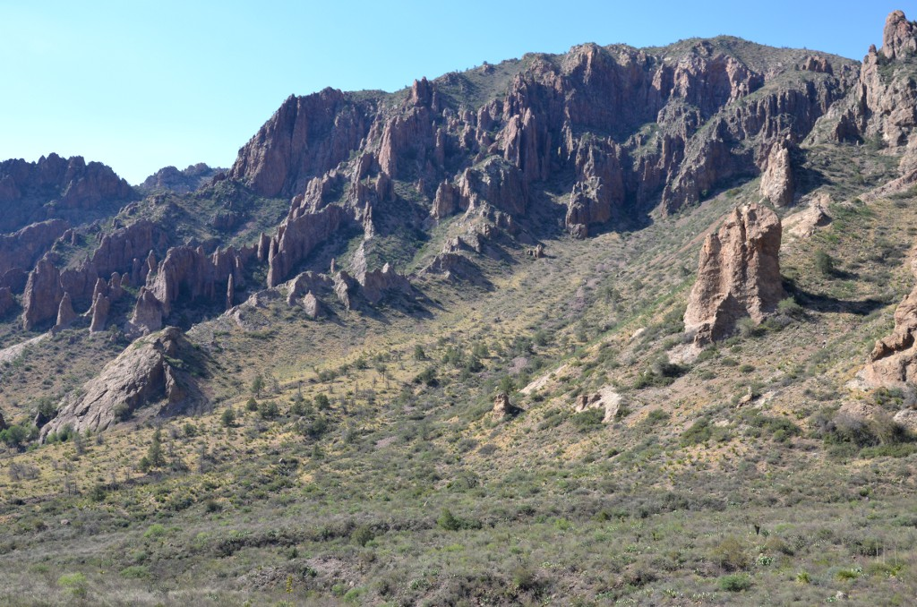 Chisos Basin - Big Bend NP