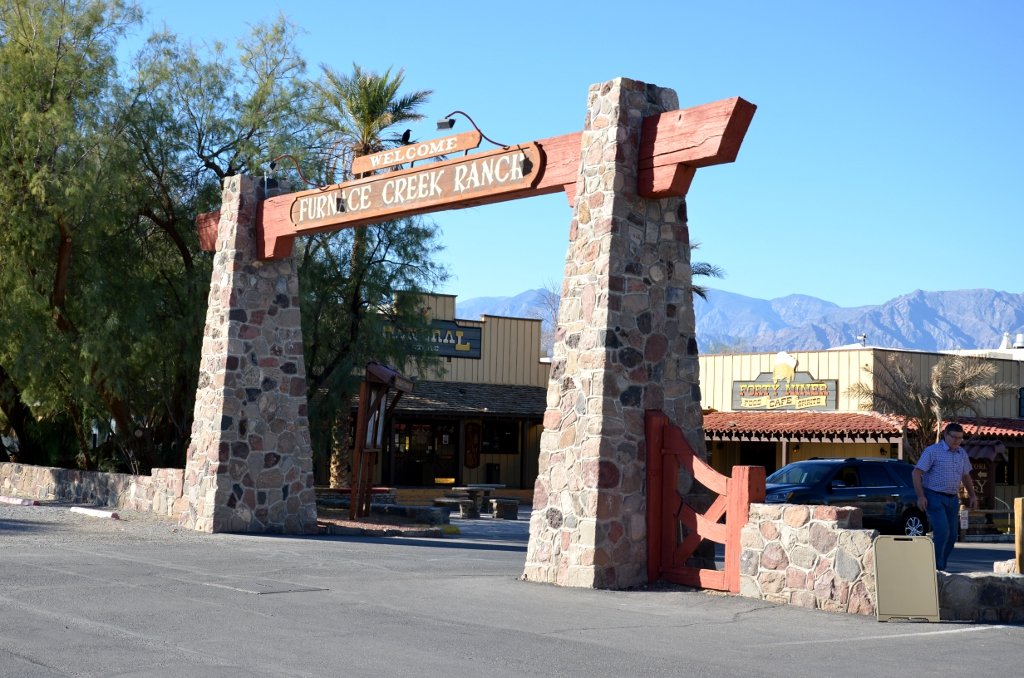 Furnace Creek Ranch Gate