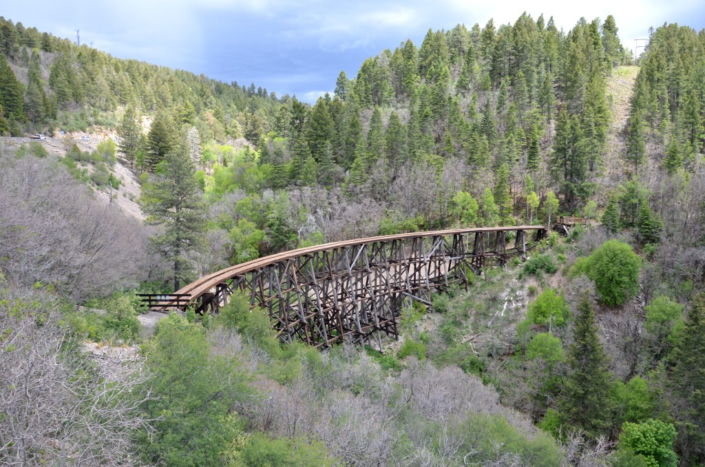 Mexican Canyon Railroad Trestle - Cloudcroft New Mexico