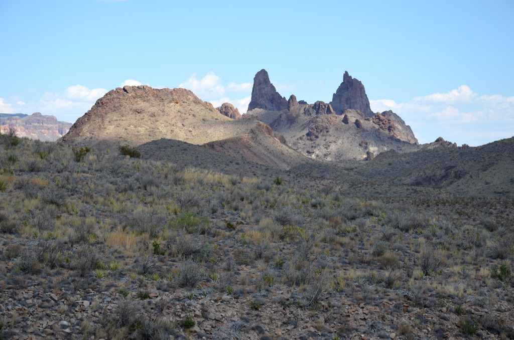 Mule Ears - Big Bend NP