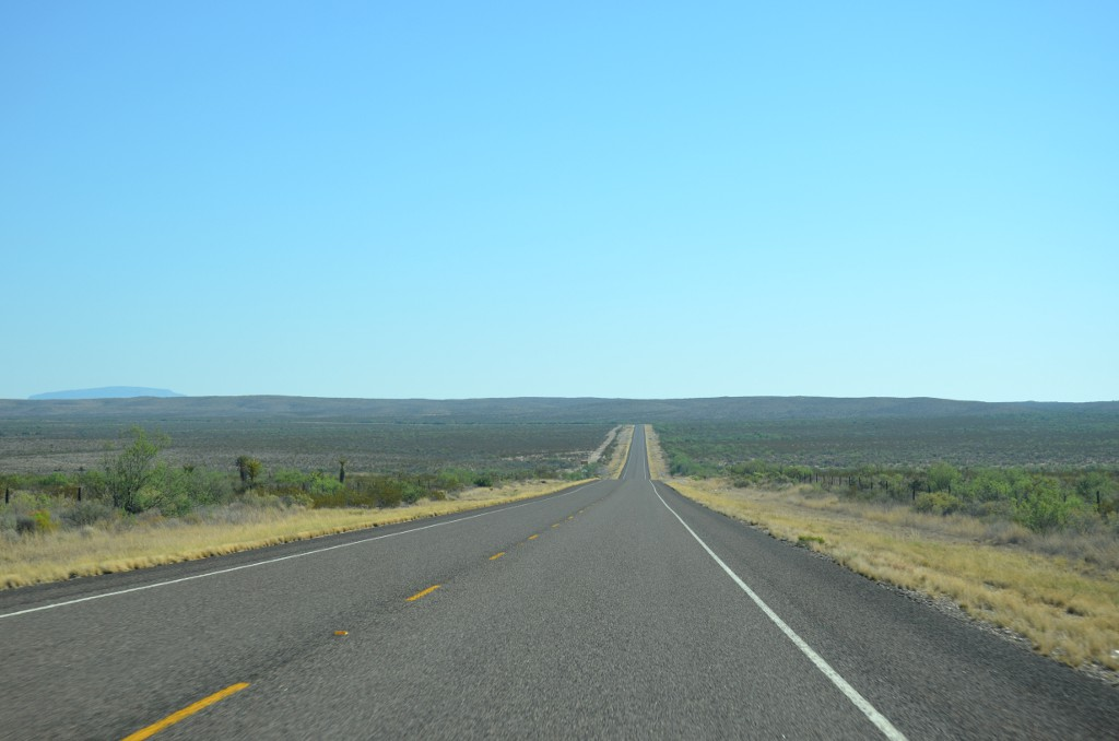 On the Road in Texas