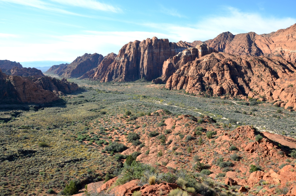 Snow Canyon SP Ausblick