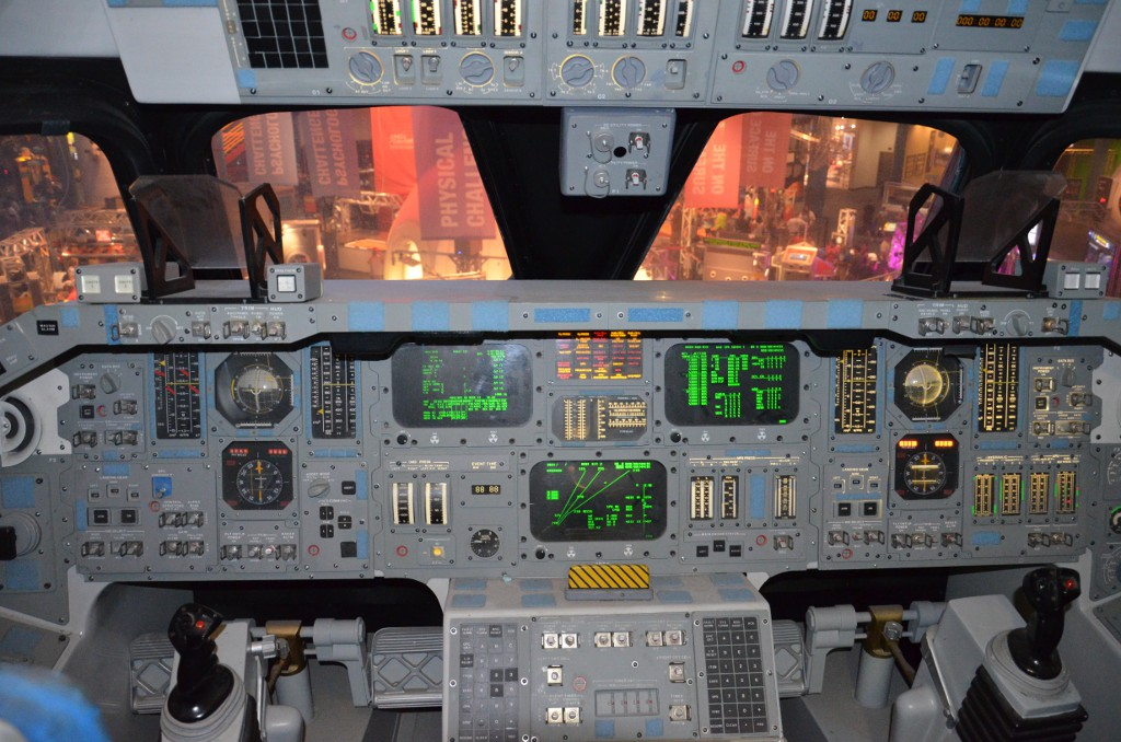 Spaceshuttle Cockpit