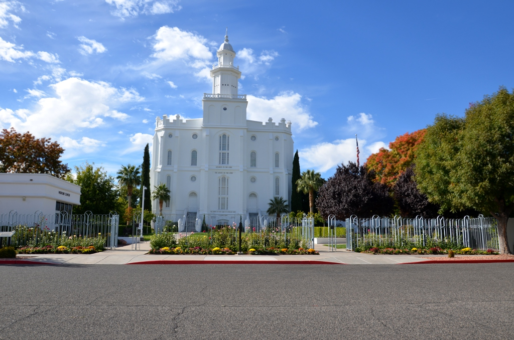 St George LDS Temple
