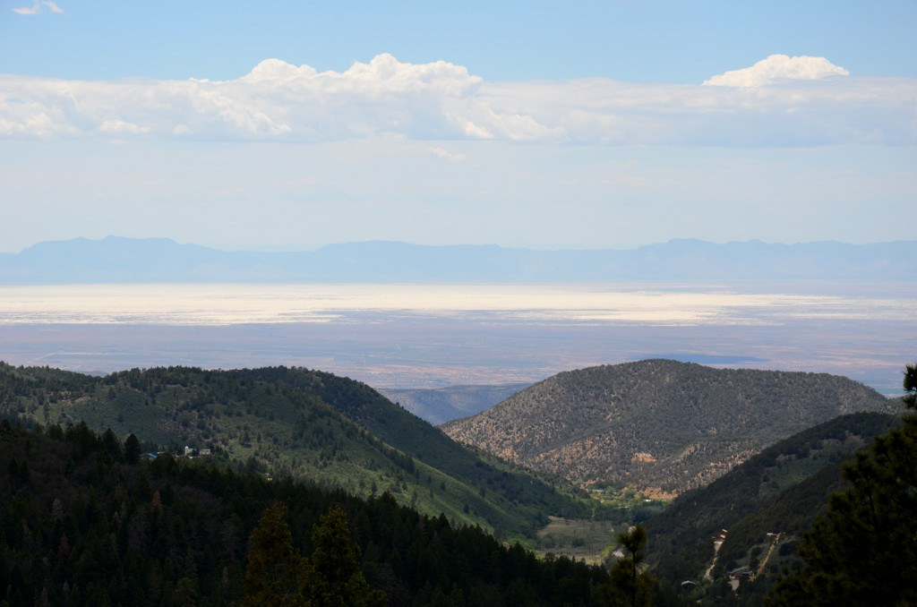 Tularosa Basin from Cloudcroft