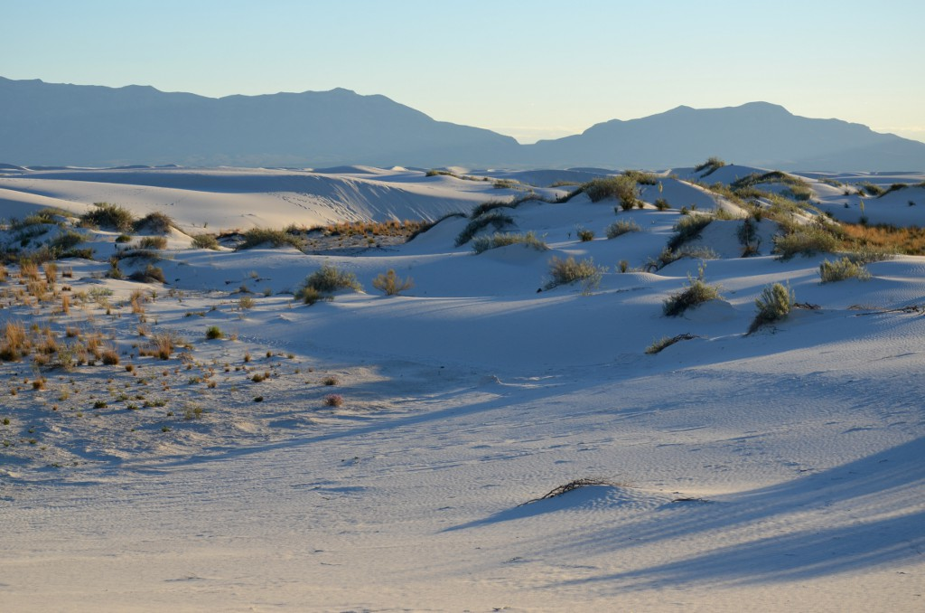 White Sands NM - Schatten