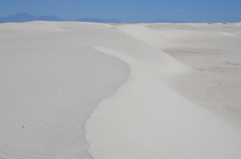 White Sands NM - Wandering Dune
