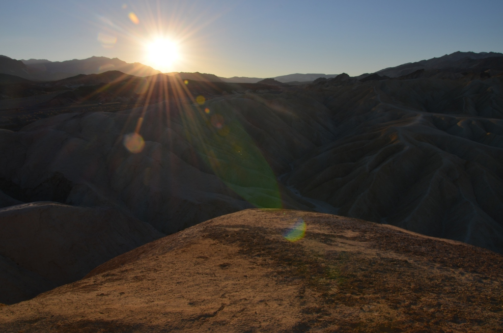 Zabriskie Point Sunrise (2)