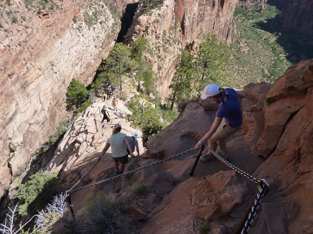 Angels Landing Abstieg