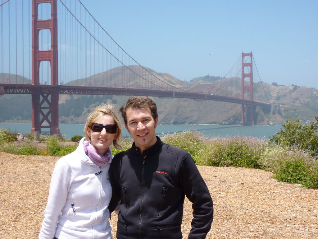 Kathrin & Simon Golden Gate Bridge