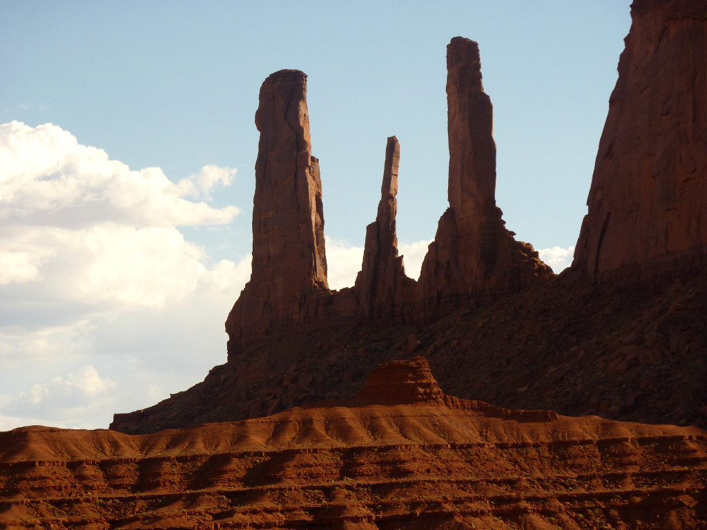 Monument Valley Needles